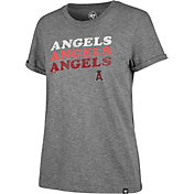 '47 Women's Los Angeles Angels Tri-Blend V-Neck T-Shirt