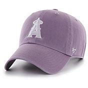 '47 Women's Los Angeles Angels Purple Clean Up Adjustable Hat