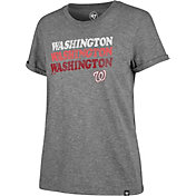 '47 Women's Washington Nationals Tri-Blend V-Neck T-Shirt