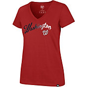 '47 Women's Washington Nationals Ultra Rival V-Neck T-Shirt