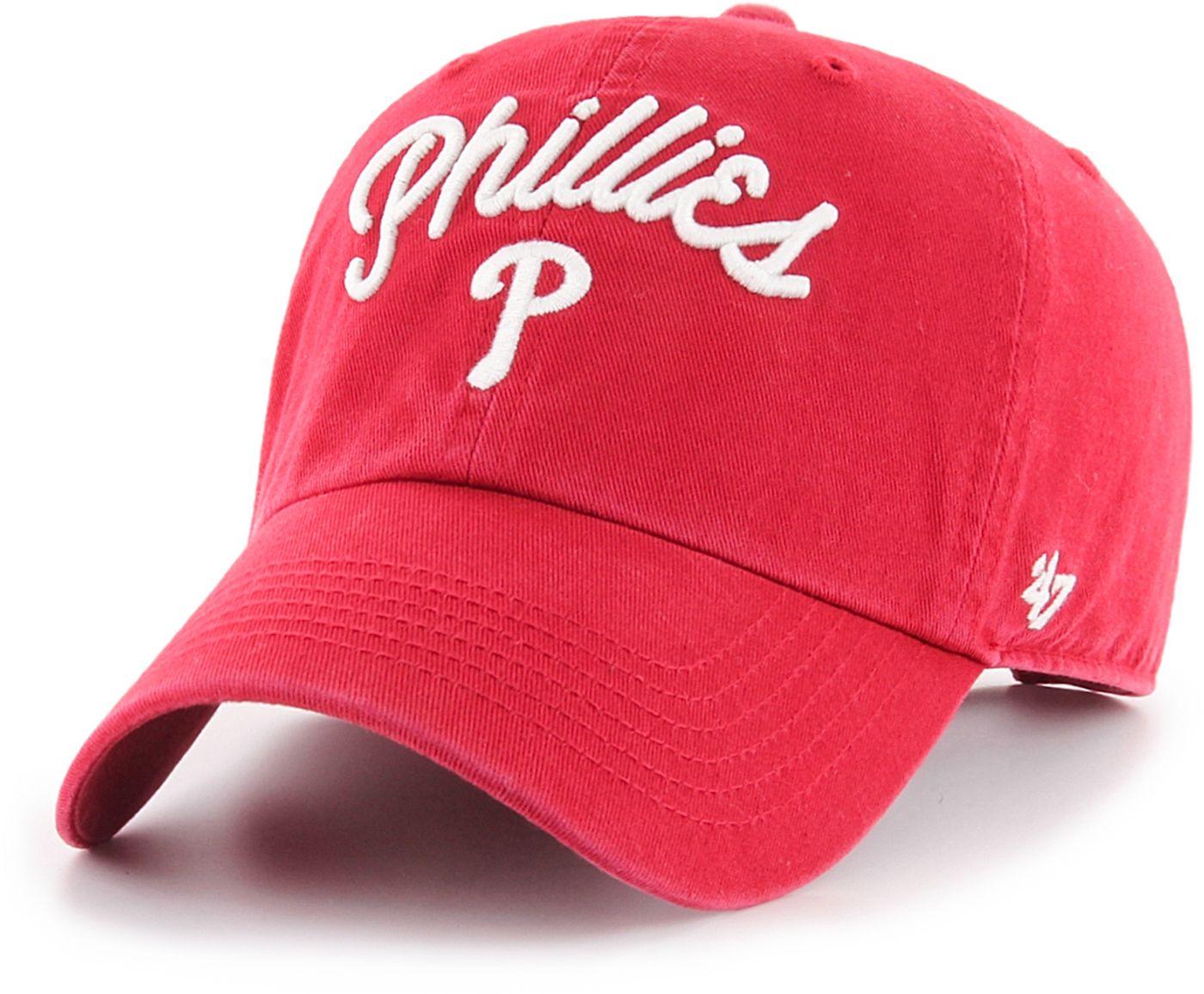 '47 Women's Philadelphia Phillies Melody Clean Up Adjustable Hat
