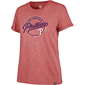 '47 Women's Philadelphia Phillies Red Match Hero T-Shirt