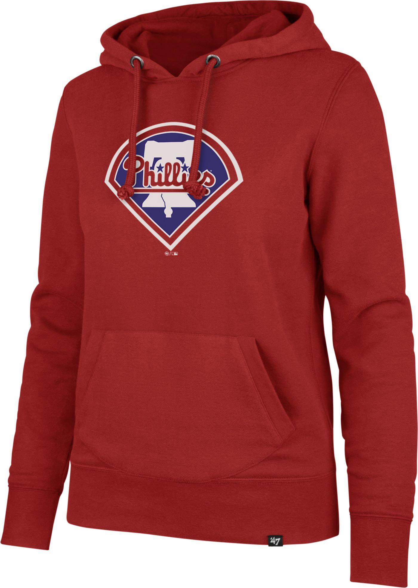 '47 Women's Philadelphia Phillies Headline Pullover Hoodie