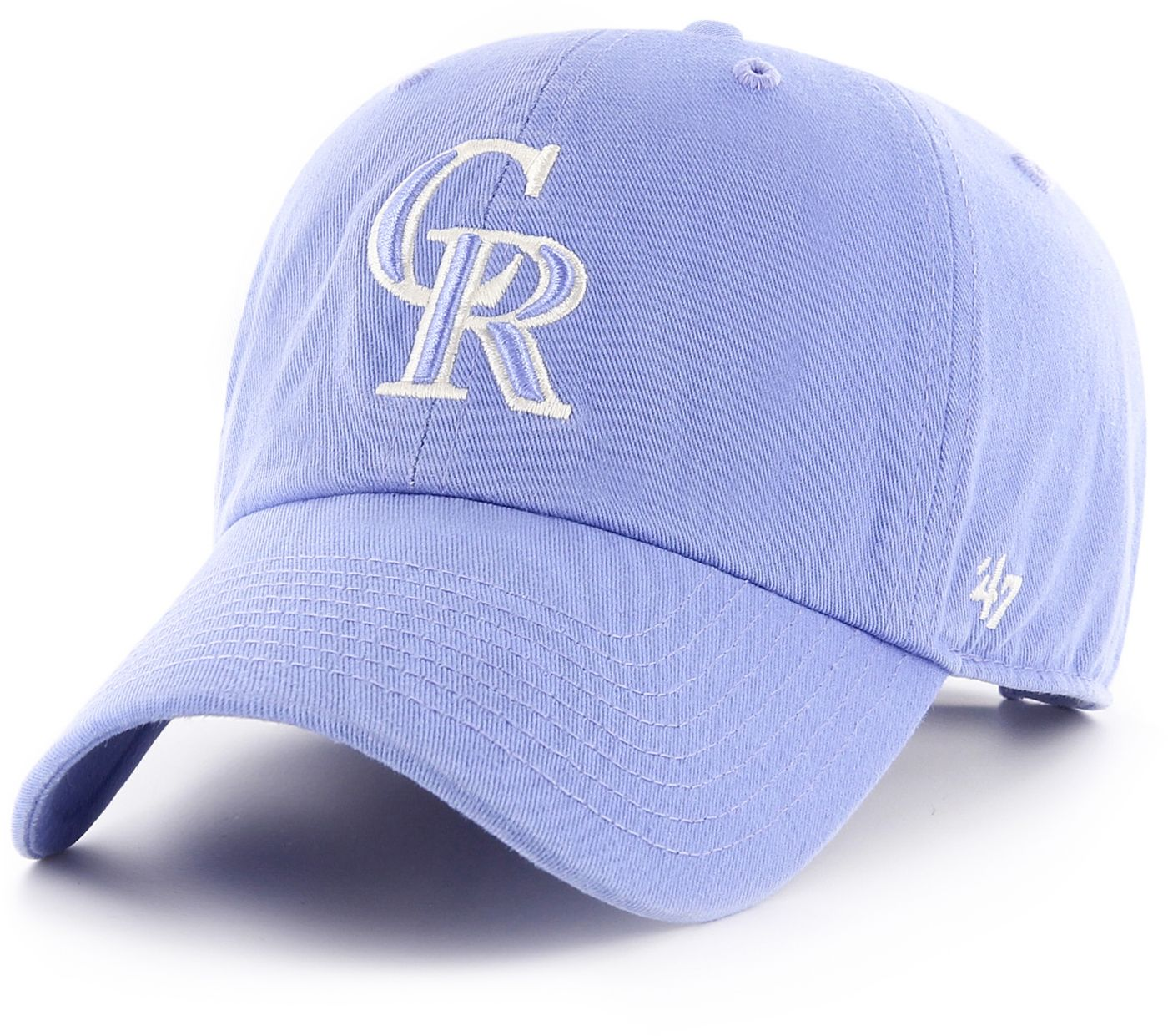 '47 Women's Colorado Rockies Blue Clean Up Adjustable Hat