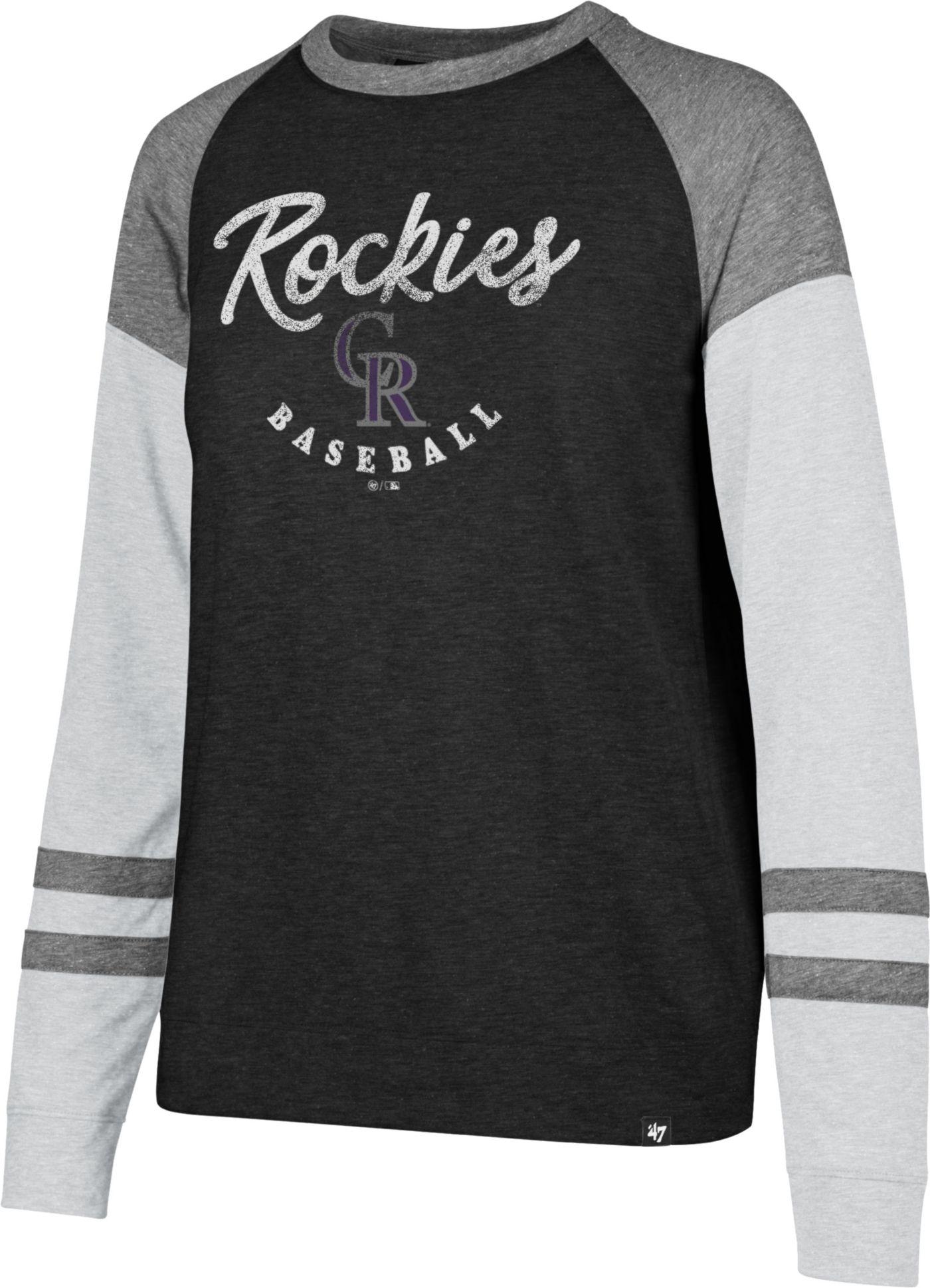 '47 Women's Colorado Rockies Match Long Sleeve Shirt