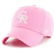 '47 Women's Colorado Rockies Pink Clean Up Adjustable Hat