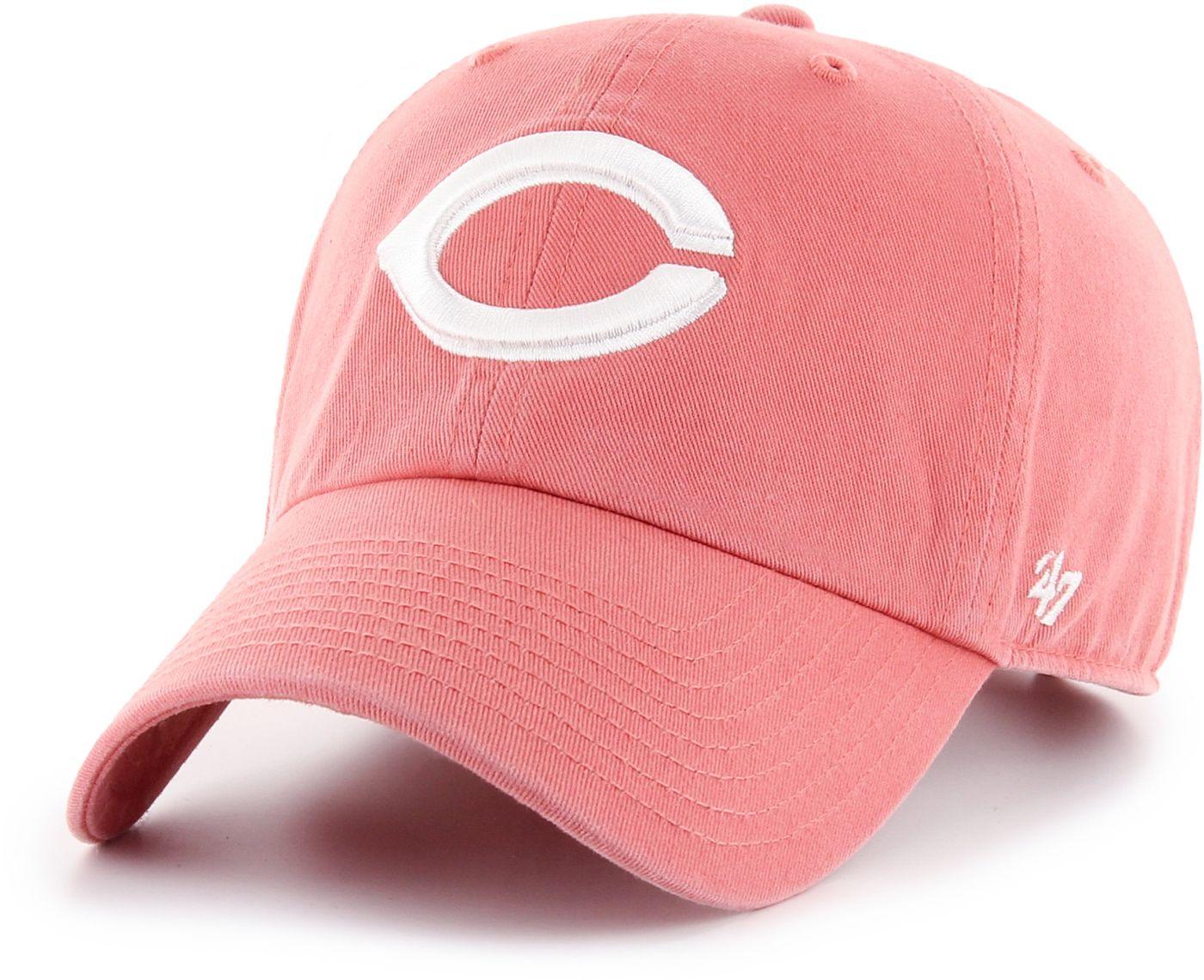 '47 Women's Cincinnati Reds Red Clean Up Adjustable Hat