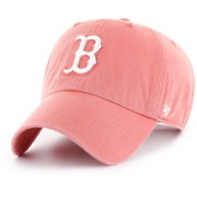 '47 Women's Boston Red Sox Red Clean Up Adjustable Hat