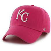 '47 Women's Kansas City Royals Pink Clean Up Adjustable Hat