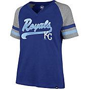 '47 Women's Kansas City Royals Royal Pavilion V-Neck T-Shirt