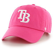 '47 Women's Tampa Bay Rays Pink Clean Up Adjustable Hat