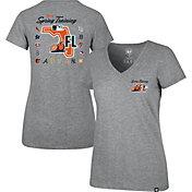 '47 Women's Grey 2020 Spring Training Grapefruit League V-Neck T-Shirt