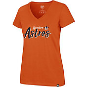 '47 Women's Houston Astros Ultra Rival V-Neck T-Shirt
