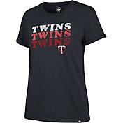'47 Women's Minnesota Twins Tri-Blend V-Neck T-Shirt