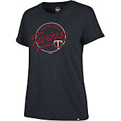 '47 Women's Minnesota Twins Navy Match Hero T-Shirt