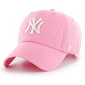 '47 Women's New York Yankees Pink Clean Up Adjustable Hat