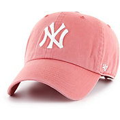 '47 Women's New York Yankees Red Clean Up Adjustable Hat