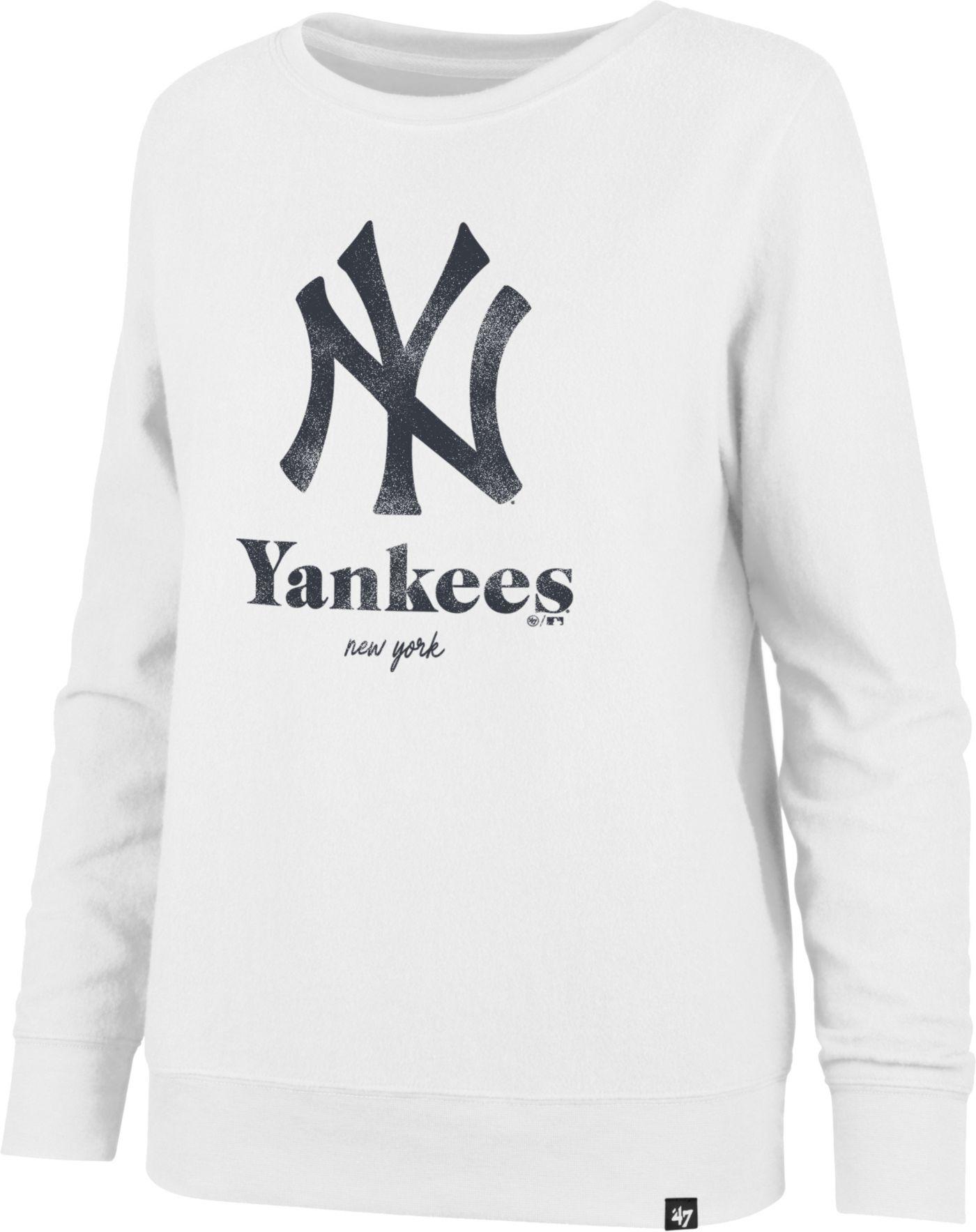 '47 Women's New York Yankees Throwback Fleece Crew