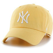 '47 Women's New York Yankees Yellow Clean Up Adjustable Hat