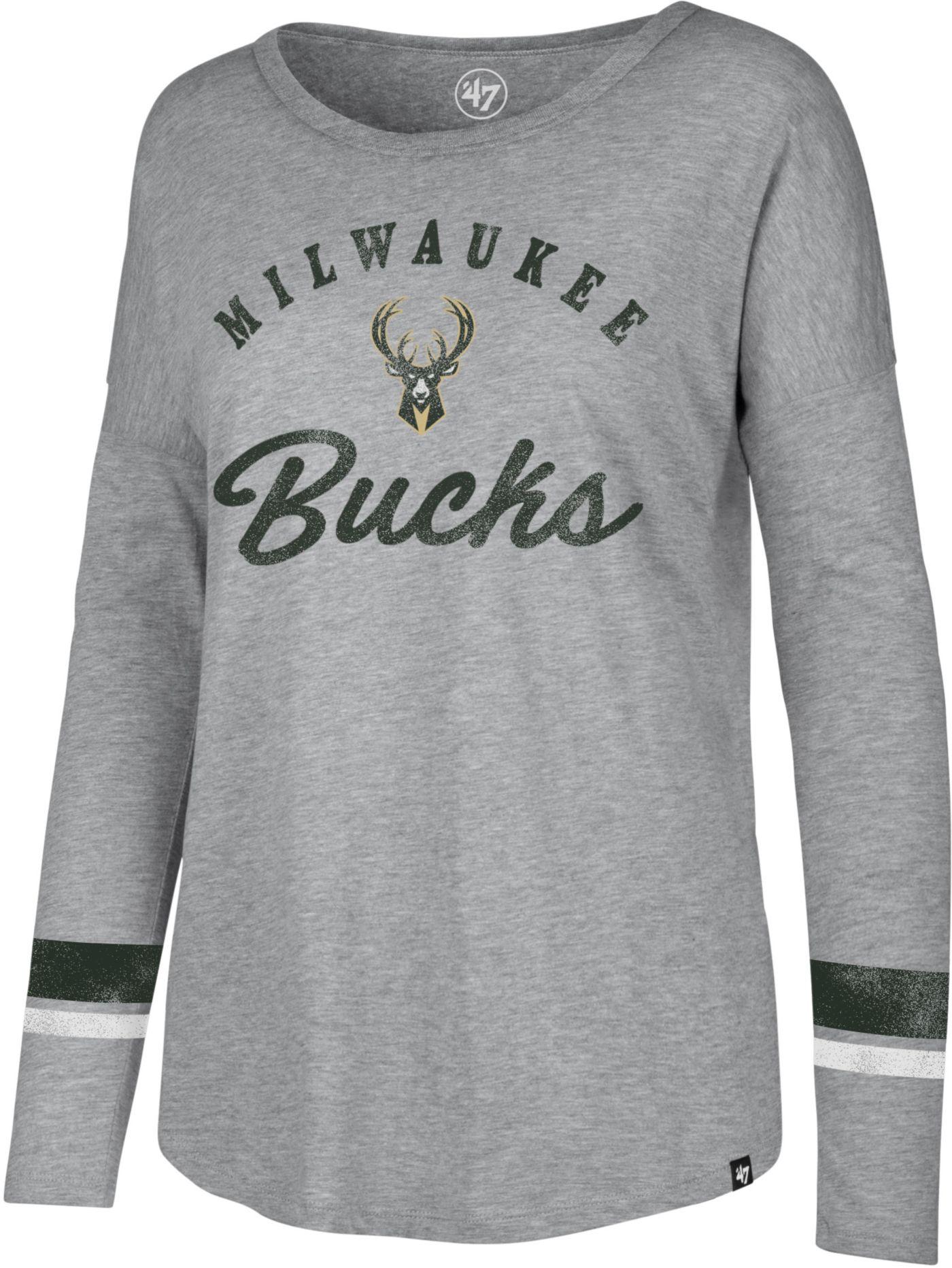'47 Women's Milwaukee Bucks Long Sleeve Shirt