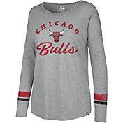 '47 Women's Chicago Bulls Long Sleeve Shirt