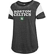 '47 Women's Boston Celtics Burnout Scoop Neck Shirt