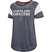 '47 Women's Cleveland Cavaliers Burnout Scoop Neck Shirt