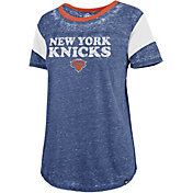 '47 Women's New York Knicks Burnout Scoop Neck Shirt