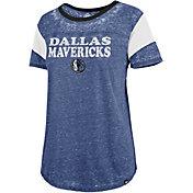 '47 Women's Dallas Mavericks Burnout Scoop Neck T-Shirt