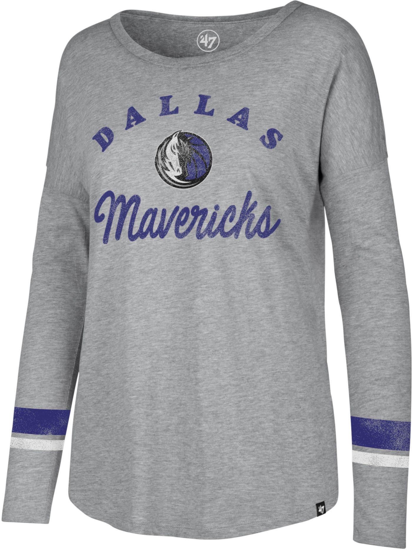 '47 Women's Dallas Mavericks Long Sleeve Shirt