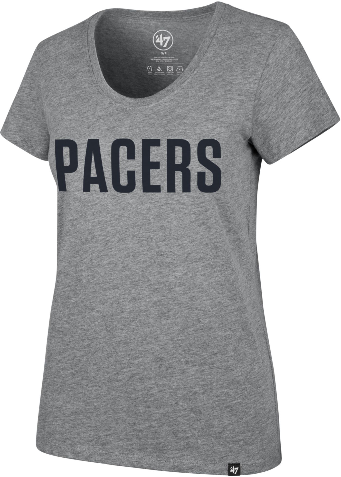 '47 Women's Indiana Pacers Scoop Neck T-Shirt