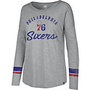 '47 Women's Philadelphia 76ers Long Sleeve Shirt