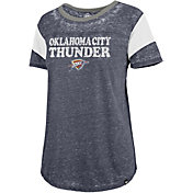 '47 Women's Oklahoma City Thunder Burnout Scoop Neck Shirt