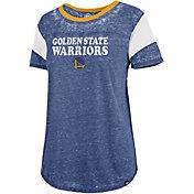 '47 Women's Golden State Warriors Burnout Scoop Neck Shirt