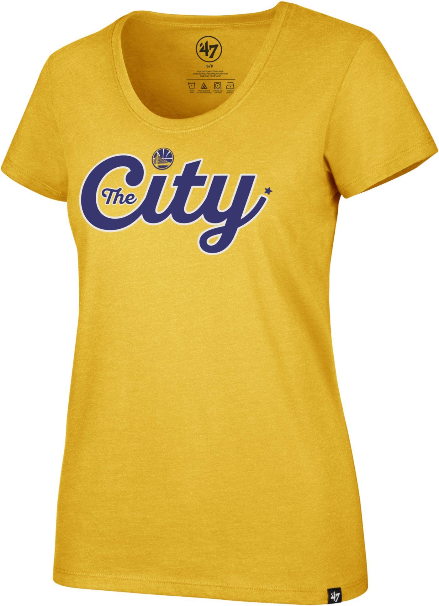 '47 Women's Golden State Warriors Scoop Neck T-Shirt
