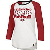 '47 Women's San Francisco 49ers Retro Stock Throwback Raglan Shirt