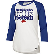 '47 Women's Buffalo Bills Retro Stock Throwback Raglan Shirt