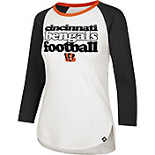 '47 Women's Cincinnati Bengals Retro Stock Throwback Raglan Shirt
