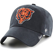 '47 Women's Chicago Bears Sparkle Logo Navy Adjustable Hat