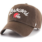 '47 Women's Cleveland Browns Melody Clean Up Adjustable Brown Hat