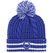 47 Women's Indianapolis Colts Static Cuffed Royal Knit Hat