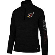 '47 Women's Arizona Cardinals Impact Black Quarter-Zip Pullover