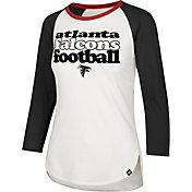 '47 Women's Atlanta Falcons Retro Stock Throwback Raglan Shirt