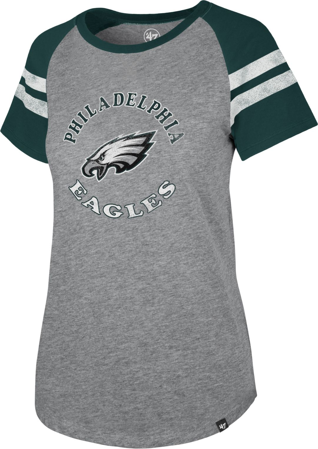 timeless design 447a9 ad60d '47 Women's Philadelphia Eagles Fly Out Raglan T-Shirt