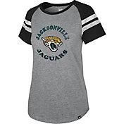 '47 Women's Jacksonville Jaguars Fly Out Raglan T-Shirt