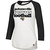 '47 Women's Jacksonville Jaguars Retro Stock Throwback Raglan Shirt