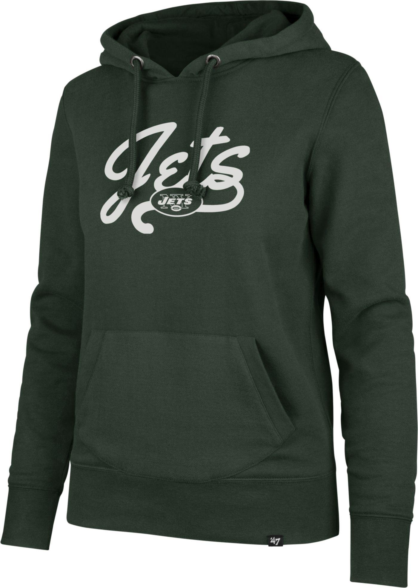 '47 Women's New York Jets Headline Green Hoodie