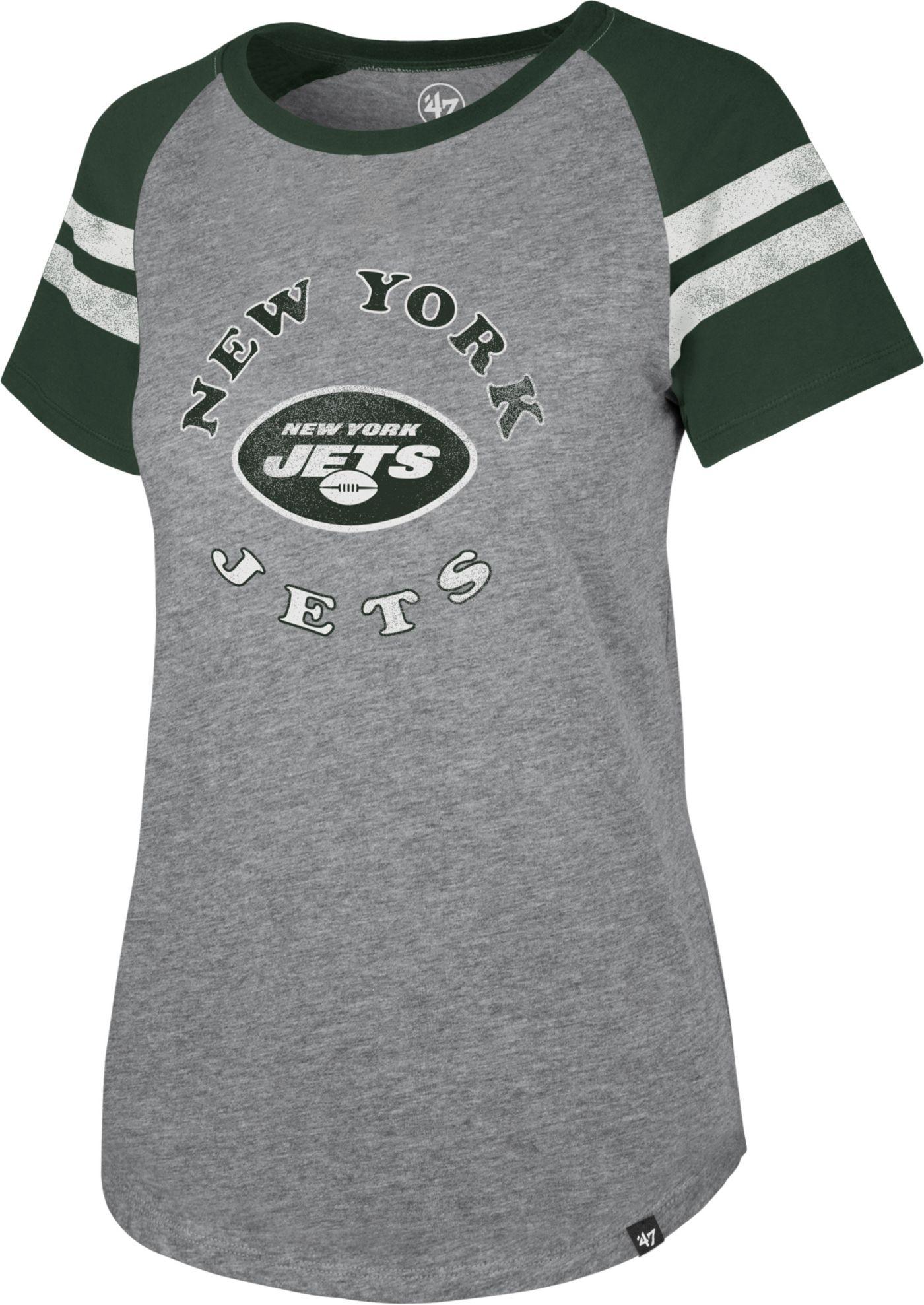 '47 Women's New York Jets Fly Out Raglan T-Shirt