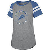'47 Women's Detroit Lions Fly Out Raglan T-Shirt