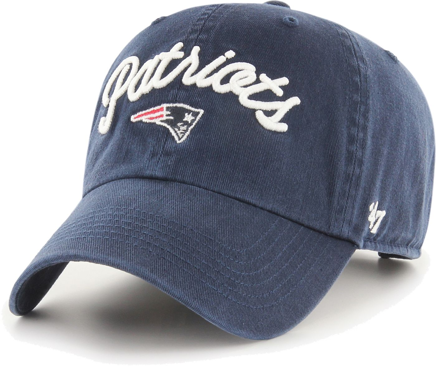 '47 Women's New England Patriots Melody Clean Up Adjustable Navy Hat